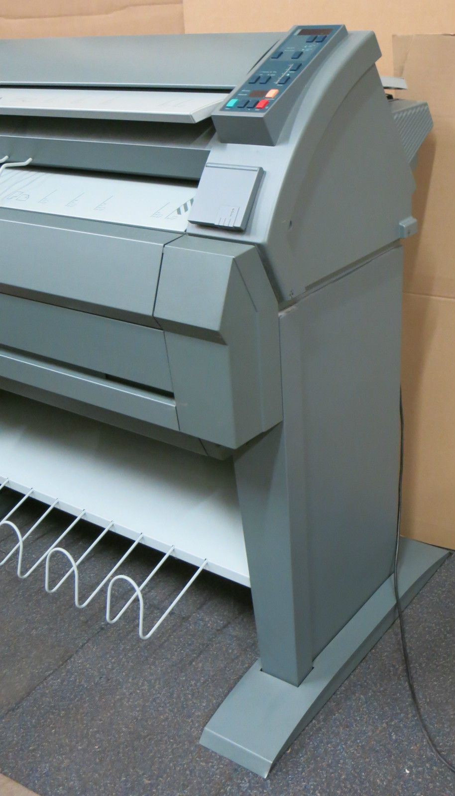 ... Oce 7055 A0 A1 A2 Plan Large Wide Format Copier Printer, Stand & Print  Collector ...